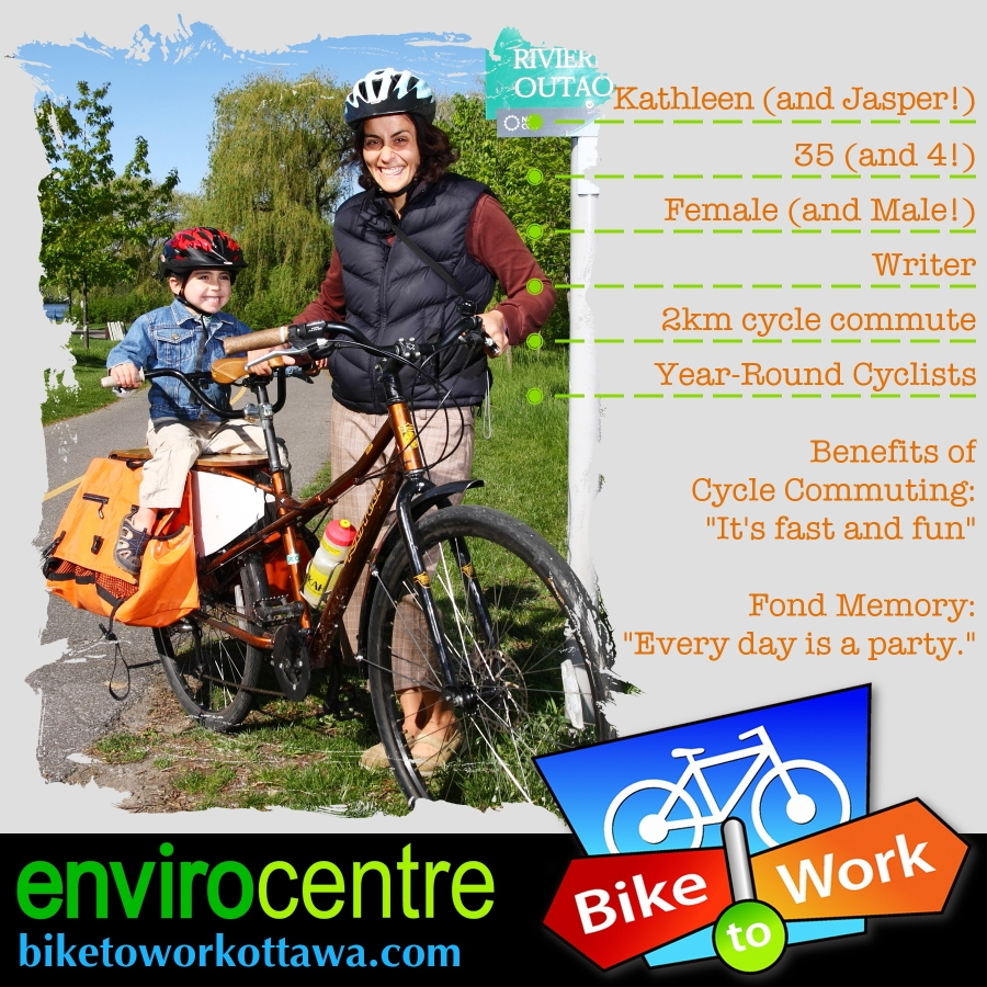May is Bike to Work Month in Ottawa, and EnviroCentre is collaborating with ...