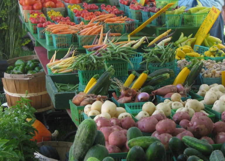 Local market produce - D. Deby