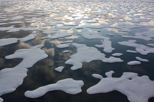Arctic sea ice by Nasa Goddard Photo and Video, Creative Commons