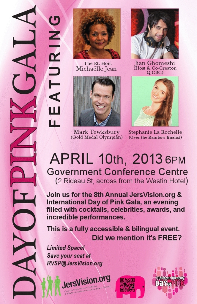 Day of Pink poster large