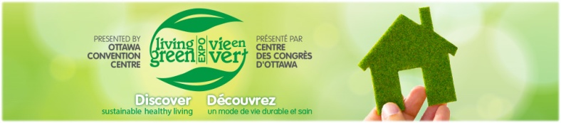 Banner courtesy Living Green Expo