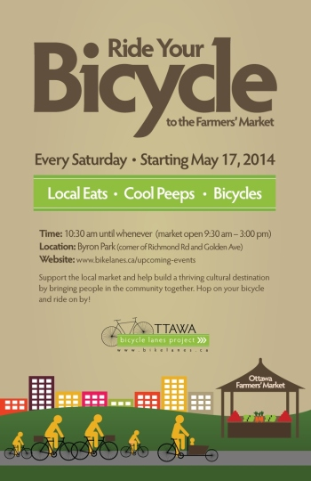 Poster courtesy Ottawa Bicycle Lanes Project