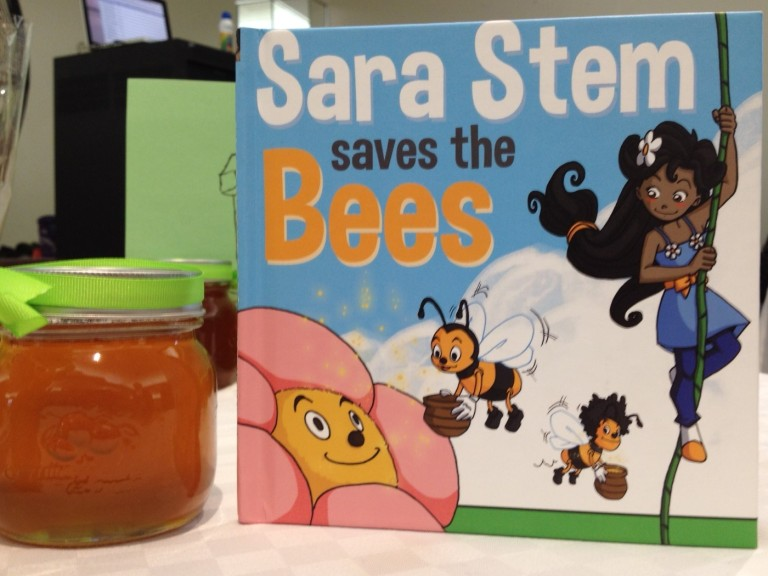 Sara Stem Saves the Bees book - D. Deby photo
