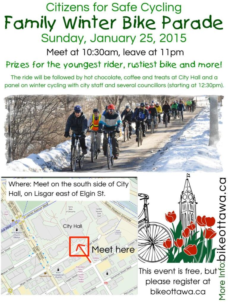 Via Citizens for Safe Cycling http://bikeottawa.ca/index.php/news/105-2015-wintercycling-parade