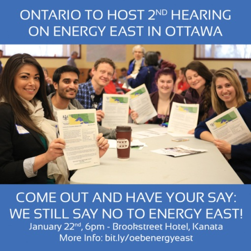 OEB consultation invite via Ecology Ottawa
