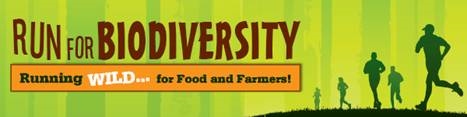 Run for Biodiversity banner