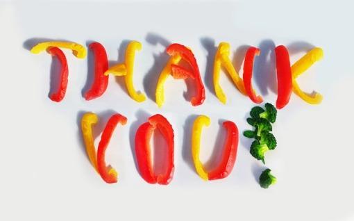 CC0 Public Domain image http://pixabay.com/en/thank-you-paprika-broccoli-red-18624/