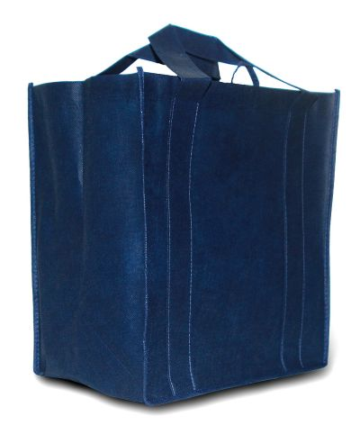 Blue reusable shopping bag by TooHotToHandle at en.wikipedia Creative Commons Attribution-Share Alike 3.0 Unported license.