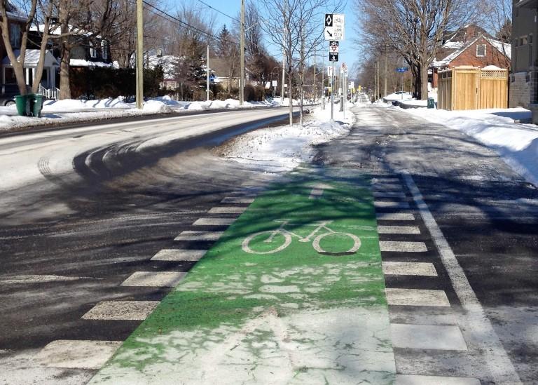 Churchill Avenue in February - D. Deby
