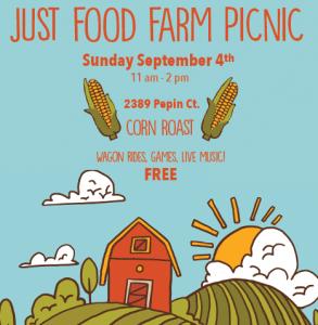 Just Food Farm picnic