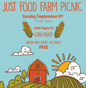 Just Food Farm picnic