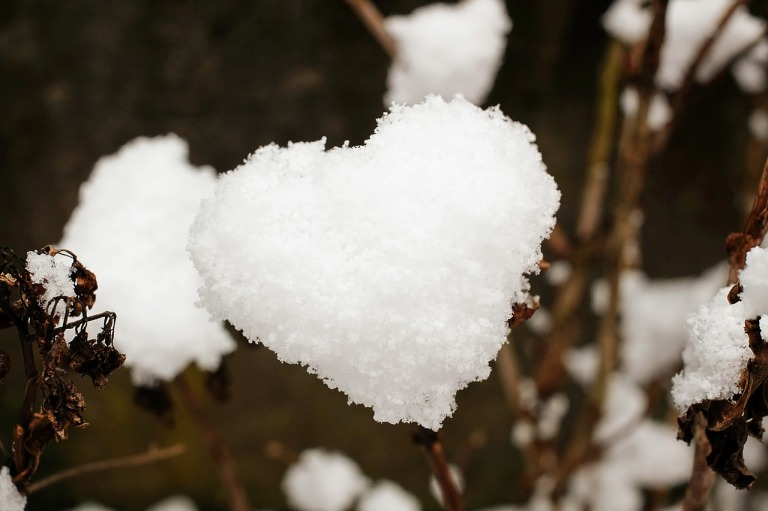 heart by couleur on pixabay Creative Commons CC0 public domain https://pixabay.com/en/heart-snow-snow-heart-love-1145528/